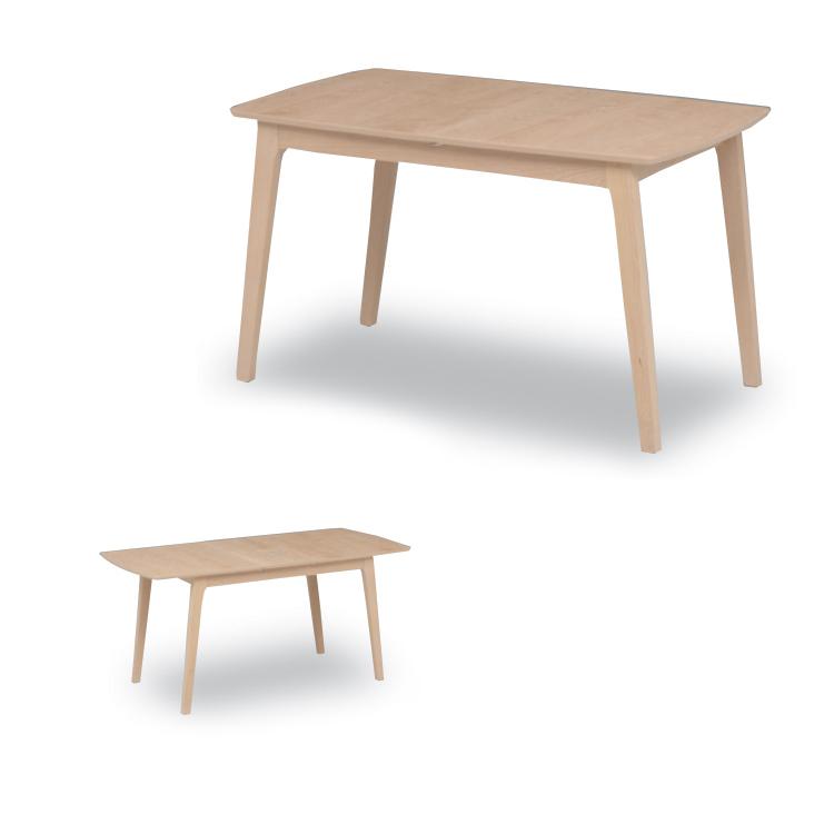 【ロゼ120テーブル伸長式】W1200(1500)×D800×H700mm ダイニングテーブル Select Dining Series