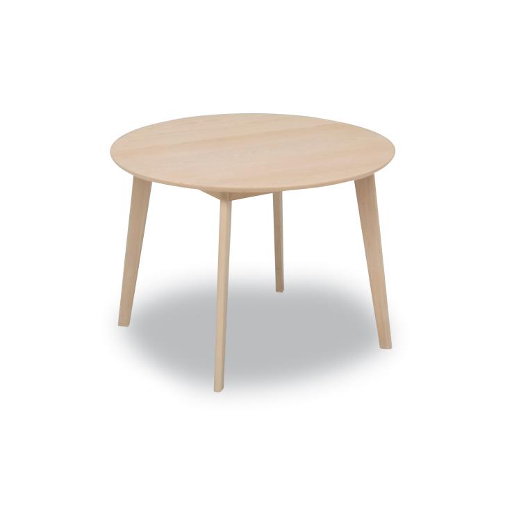 【アップル100テーブル(丸)】W1000×D1000×H700mm ダイニングテーブル Select Dining Series