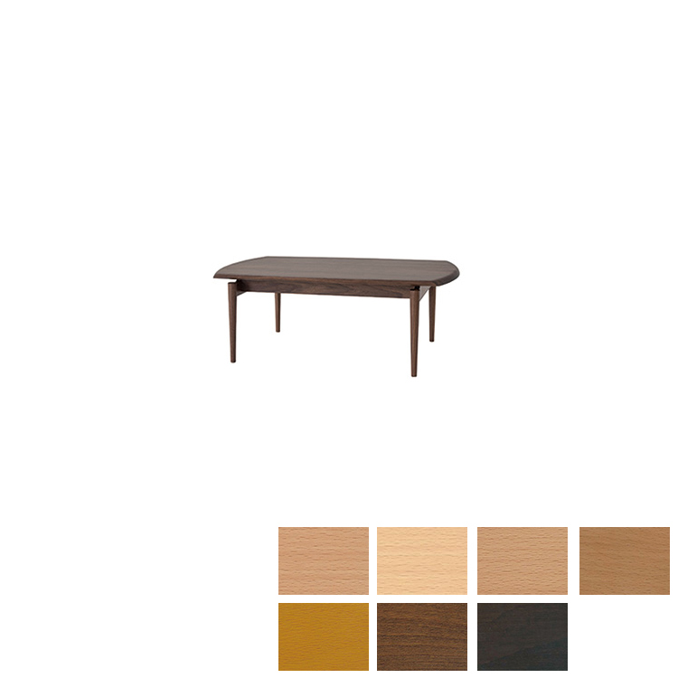 【KX13TB】W110×D60×H40×T2.5cm リビングテーブル SEOTO-EX(セオトEX)飛騨産業