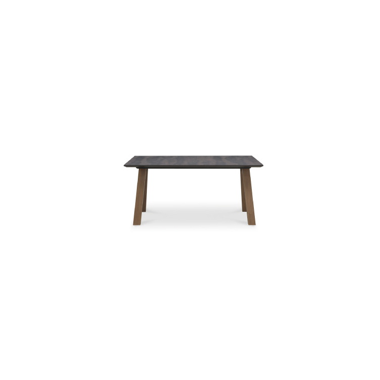 【150テーブル】W1500×D850×H700mm (脚間1180)ALMA アルマ ダイニング 天板はメラミン化粧板