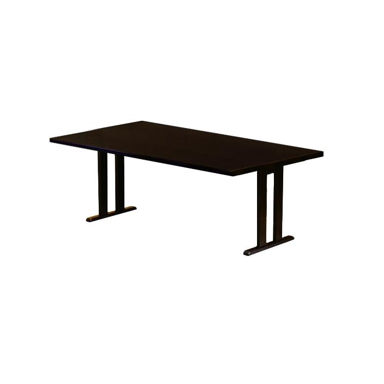 【4人掛け】お座敷用 宴会・会議テーブル 業務用 畳・カーペットが傷みにくい畳ソリ脚採用 テーブル 座卓