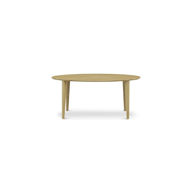 【11/4(月)20時~クーポン有】 【160楕円形テーブル】W1600×D900×H700mm(脚間1020mm) LALA ララ ダイニング