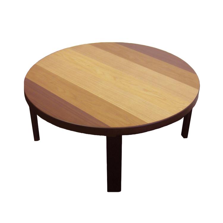 80丸×H35 折脚 座卓 ローテーブル センターテーブル 円卓 マルッコ