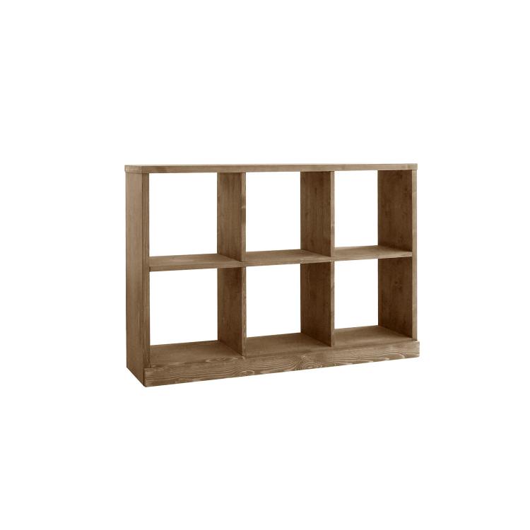 幅1044×奥行き290×高さ808mm roselle shelf(2×3)ローゼル シェルフ(2×3) ノラ nora mam マム 関家具