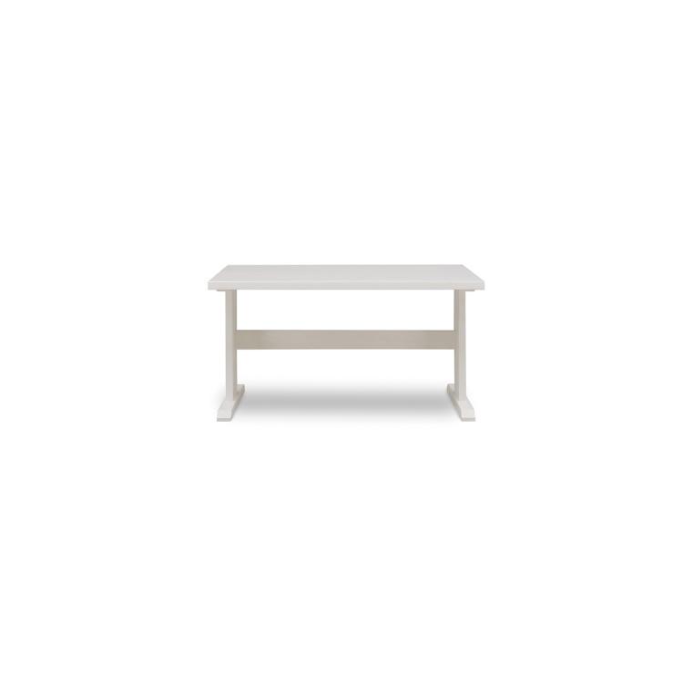【135テーブル】W1350×D850×H700mm(脚間1140)SALSA サルサ ホワイト家具 檜 ヒノキ