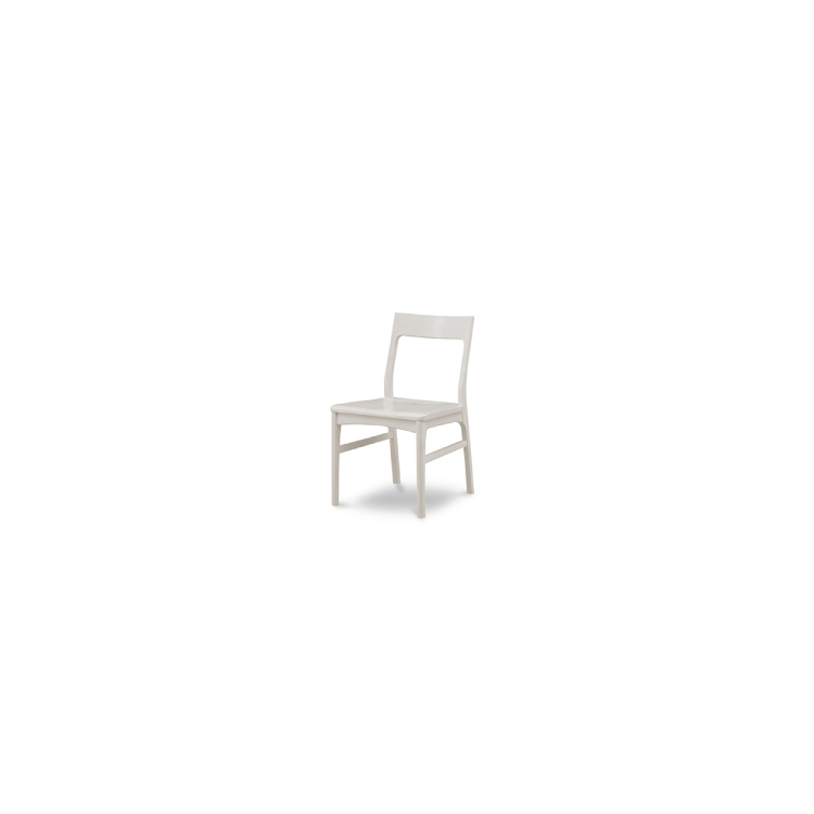【チェア】W540×D540×H755mm(SH435)SALSA サルサ ホワイト家具 檜 ヒノキ