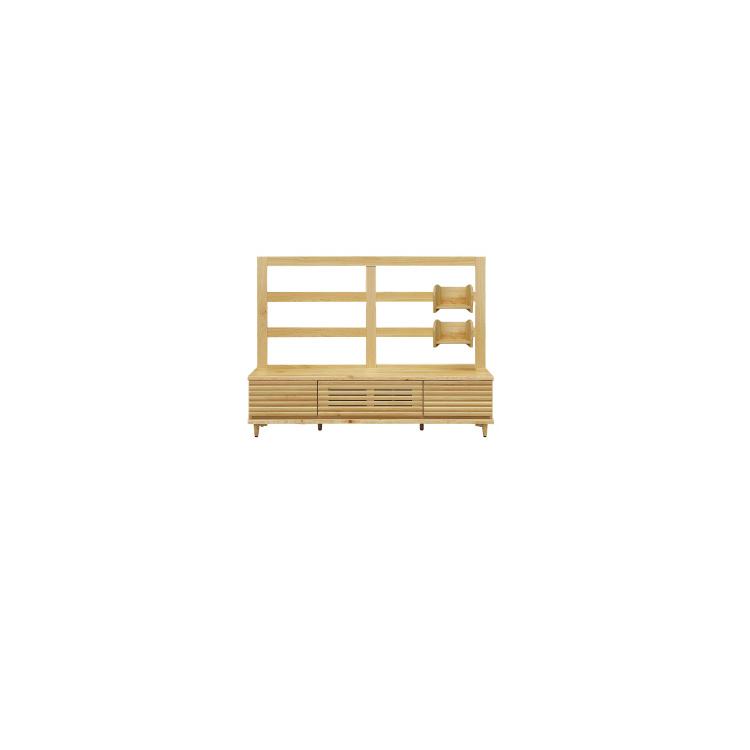 【メーカー在庫限り】【160TVB】W1600×D400×H1200mm 樹 たつき テレビボード ヒノキ 檜