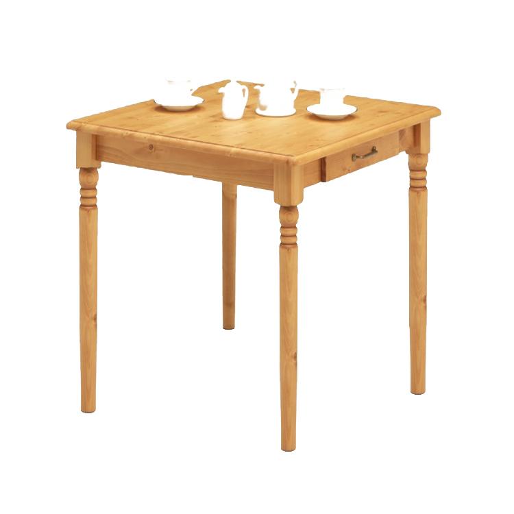 【80cmテーブル】パイン無垢材の木目が魅力的なダイニングシリーズ