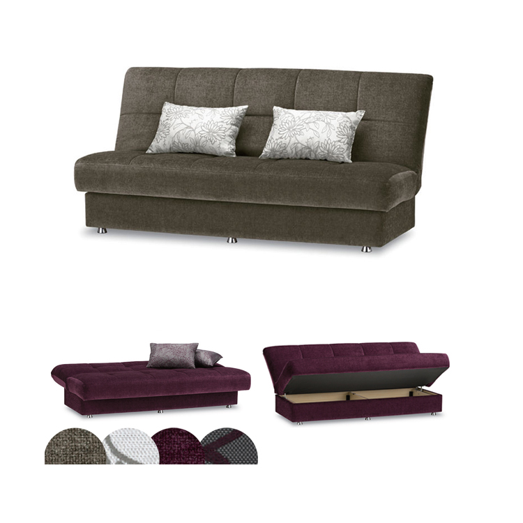 France Bed Beds With Storage Sofa Ag Series Alma Cover Coil Springs 3 Couch Semi Double Size