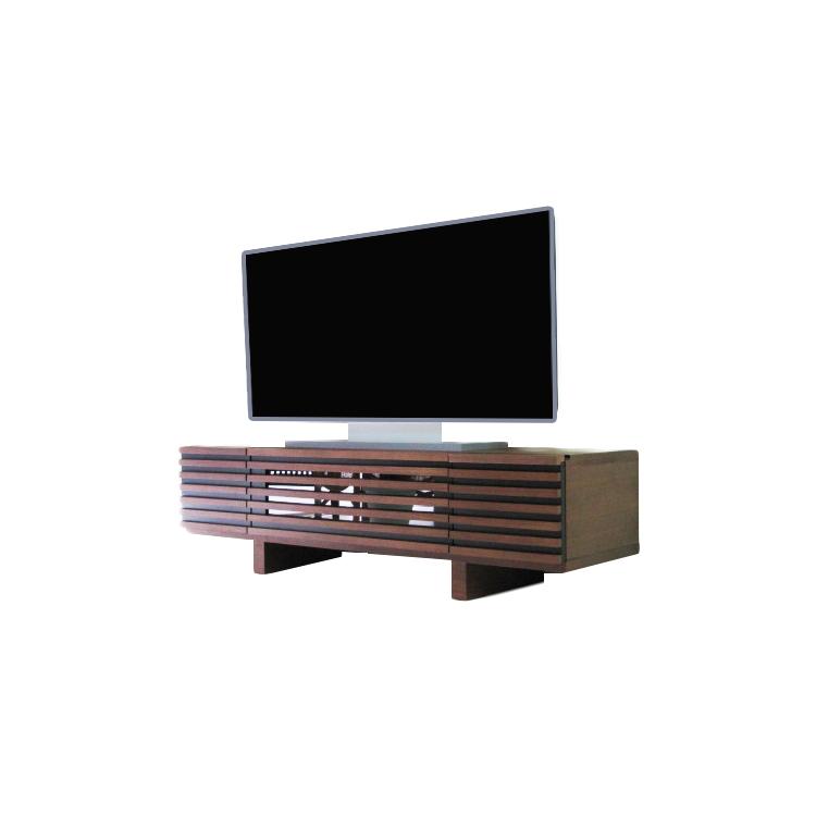 天然杢ウォールナット突板 テレビボード 140幅 140TVB テレビボード AVボード テレビボード テレビ台 ローボード 天然木 無垢材 コーナー 完成品