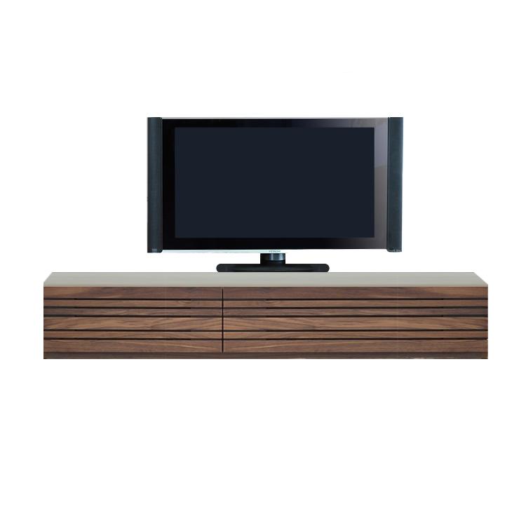 【11/4(月)20時~クーポン有】 【210cm】ロータイプ テレビボード 天然木 無垢 オプションのBOXキャビネット2サイズ【日本製】