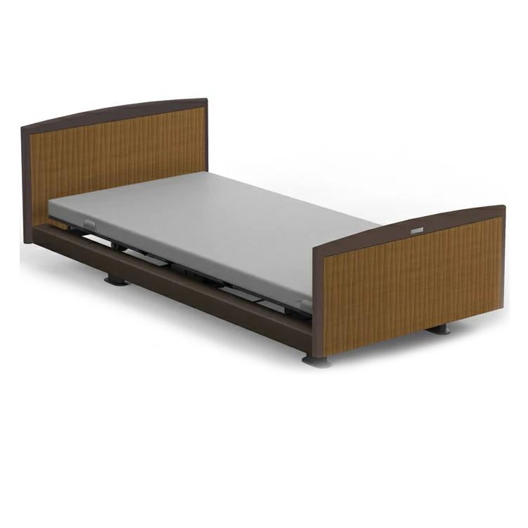 インタイム1000は介護ベッドとしてもお使い頂ける電動ベッドです。ワンボタン操作で、「背あげ」「膝あげ」を連動してコントロール。胸やおなかへの圧迫感も大幅に軽減。 【RQ-1136GB】【1+1モーター】パラマウントベッド 電動ベッド 介護ベッド【ベッドフレームのみ】【日本製】 【フレームとマット同時購入でシーツプレゼント】
