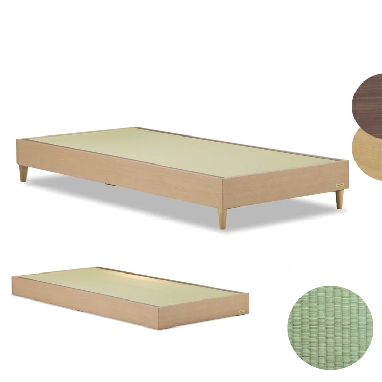 【シングル+ヘッドボード無】タタミーノ 畳ベッド 国産 Francebed フランスベッド