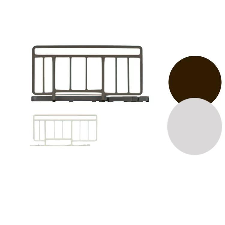 ふとんのズレやベッドからの転落を防ぎます。片側に2本並列で設置できます。 【SR-100JJ サイドレール】ハンドレール France Bed フランスベッド 福祉医療にも 手すり2本セット
