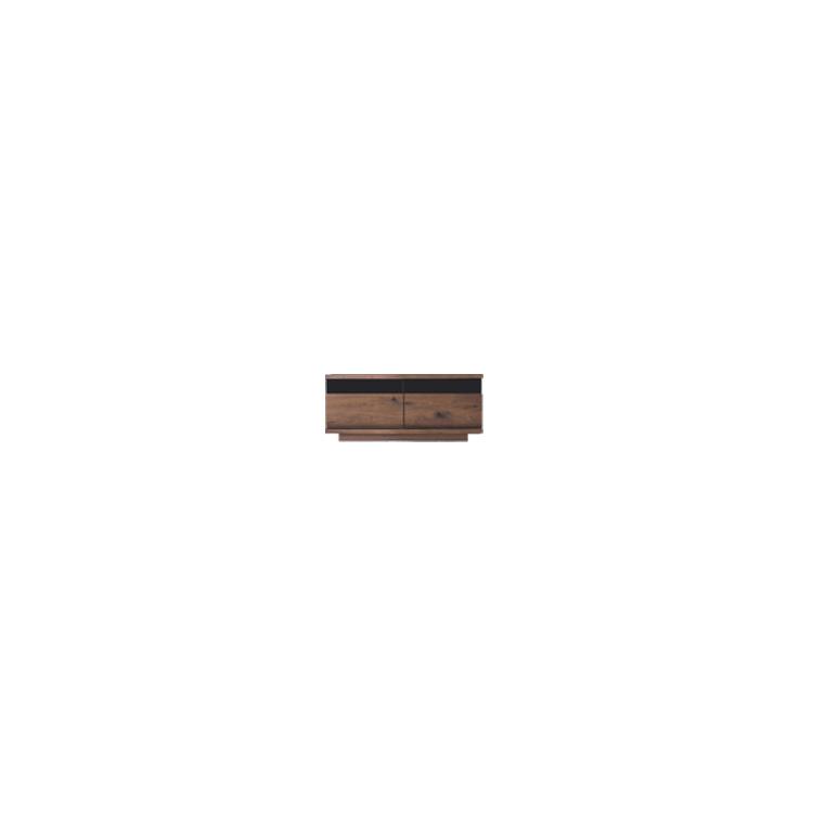 【幅103cm】【ロータイプテレビボード】【ダークブラウン】木目の美しい節入り天然木シリーズ 日本製
