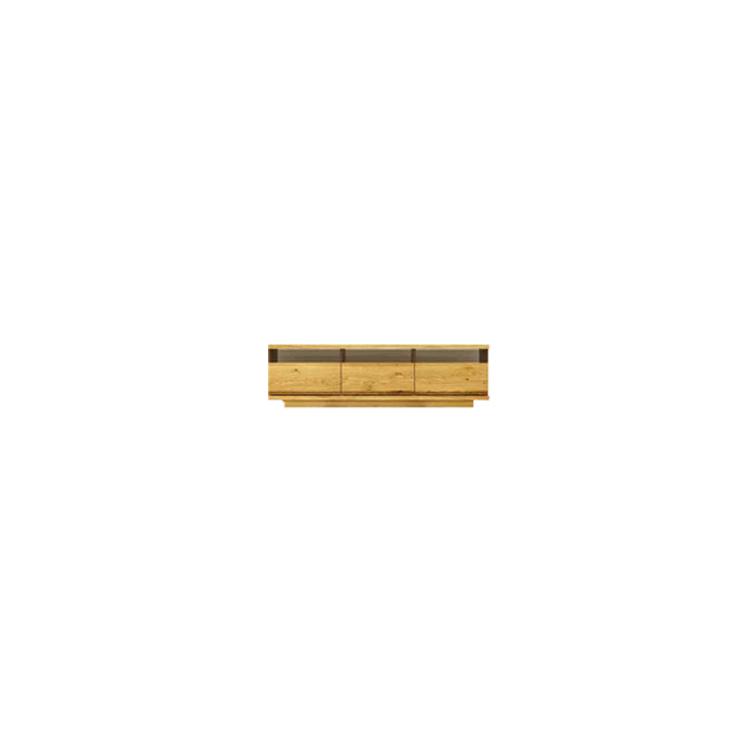 【幅154cm】【ロータイプテレビボード】木目の美しい節入り天然木シリーズ 日本製