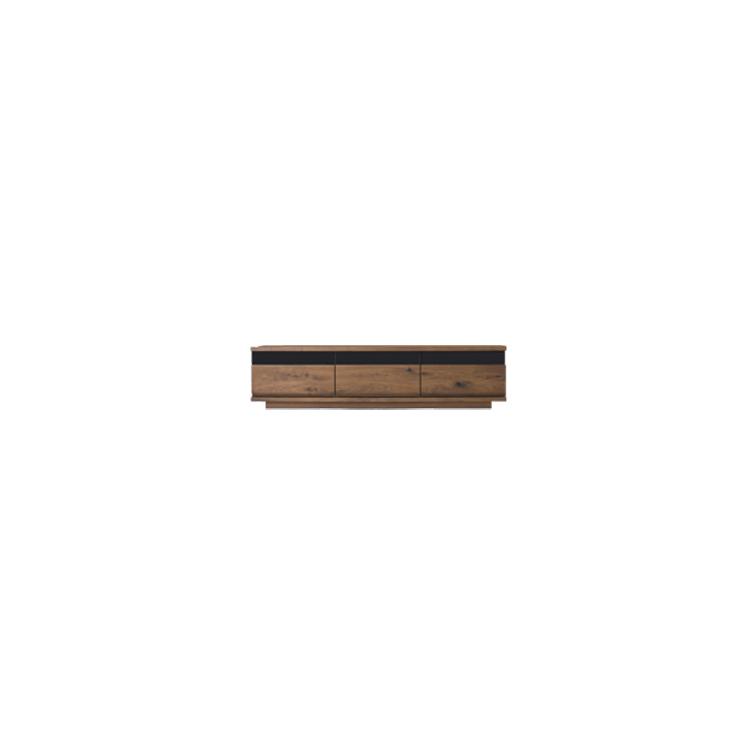 【11/4(月)20時~クーポン有】 【幅178cm】【ロータイプテレビボード】【ダークブラウン】木目の美しい節入り天然木シリーズ 日本製