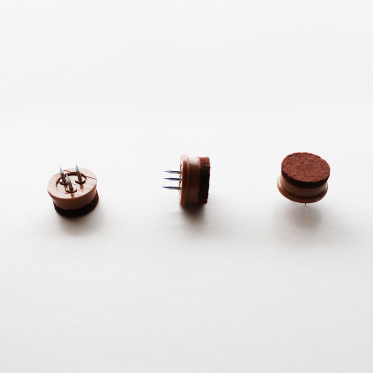 【19mm】【200個】【茶色】フロアガード
