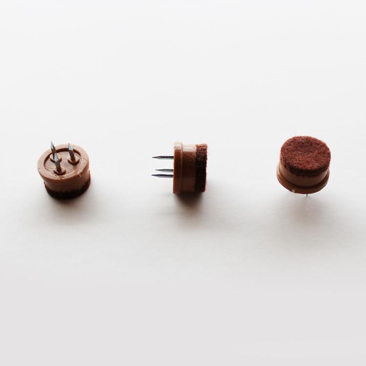 【22mm】【200個】【茶色】フロアガード