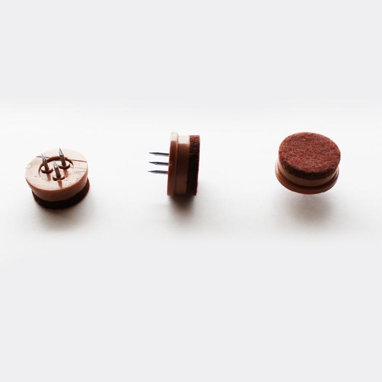 【25mm】【200個】【茶色】フロアガード