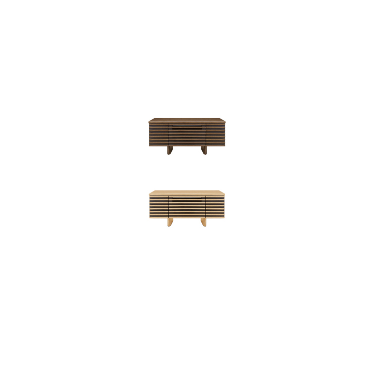 【送料無料】コーナータイプ ウォールナット材と オーク材 から素材を選べて113、100、150cmテレビボード AVボード ローボード 北欧風 完成品 テレビ台 テレビボード