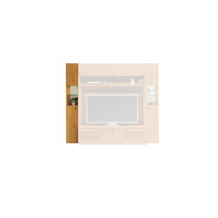 【11/4(月)20時~クーポン有】 Oak Gallery (オークギャラリィ)シリーズ BUMP(バンプ) 30キャビネット  (写真:向かって左)