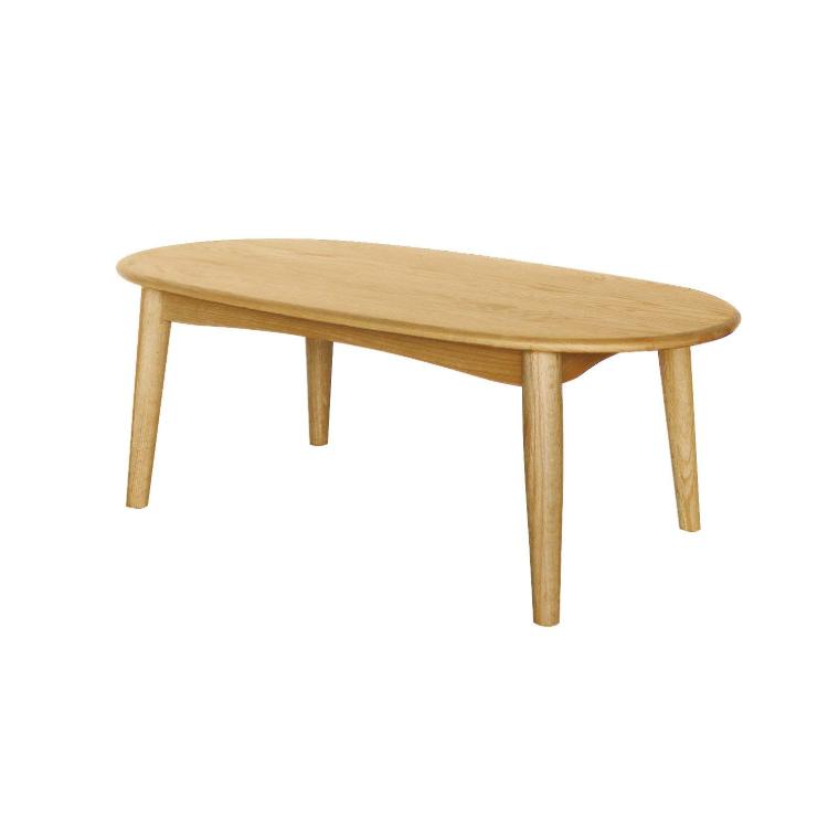【ローテーブル】北欧スタイル リビング北欧 オーク 材 ナチュラル 木製 天然木 机 センター