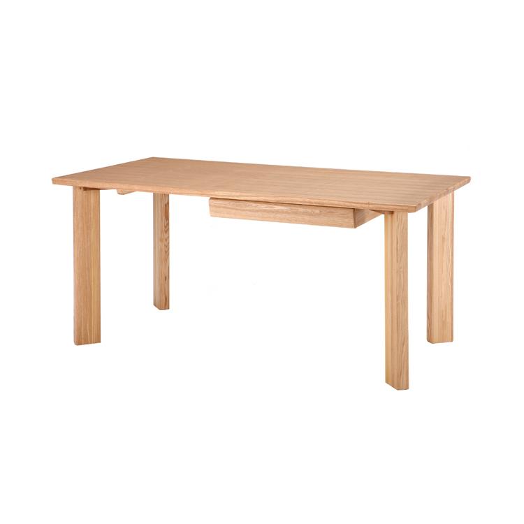 天然木(タモ材)使用 ダイニングテーブル プレーン JUT-2369NA