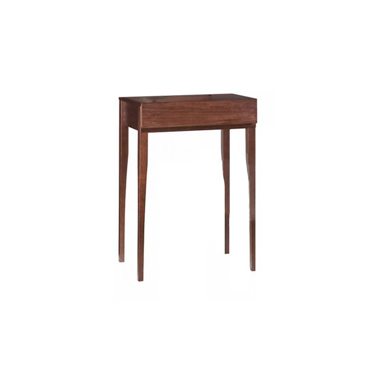 【コンソール】天然木ウォールナット材の レトロでモダンなシリーズ家具