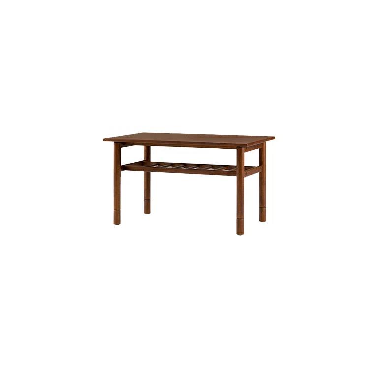 【展示品1点限り】 18通りの使い方ができる ソファダイニングシリーズ LDテーブルリビングダイニング テーブル 食卓 ダイニングテーブル 高さ調整 天然木 木製 ウレタン塗装 ハイタイプ ロータイプ