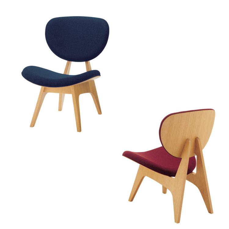 天童木工 中座イス 座椅子 『Chuza-isu』 張地:グレードA 『アネルカ』 他 T-3206NA-ST