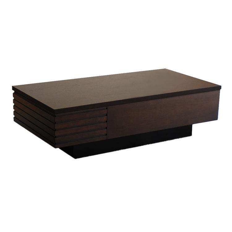 サイドに引出しが付いたリビングテーブル LT-469 サイドテーブル/センターテーブル