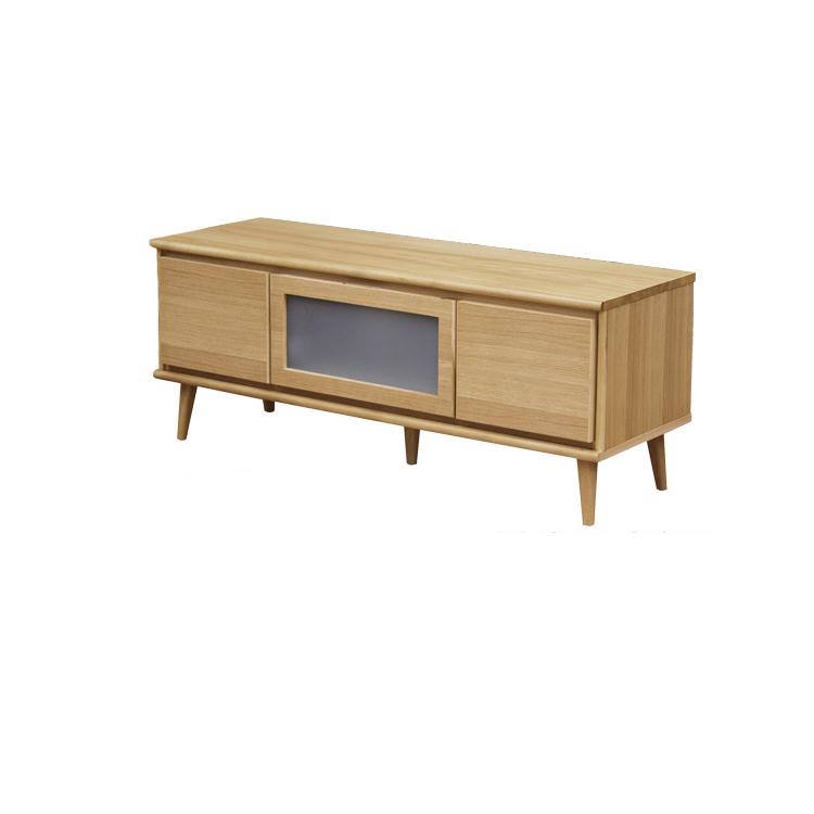 北欧スタイル の TVボード 120サイズ 北欧 オーク 材 ナチュラル 木製 天然木 テレビボード AVボード TVボード