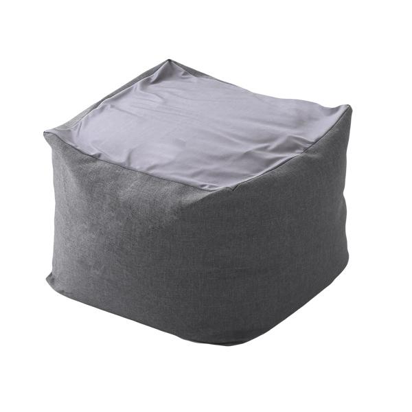 【XLサイズ】特大のキューブ型ビーズクッション・日本製 カバーがお家で洗えます   Guimauve-ギモーブ-