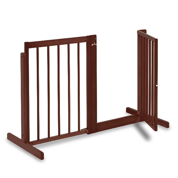 至上 あたたかみのある高さ80cmの木製タイプのゲート ペットゲート 犬用 システムゲート 期間限定お試し価格 BF 80 木製 自立型 室内用 ペット家具 ドア付き 置くだけ ゲート