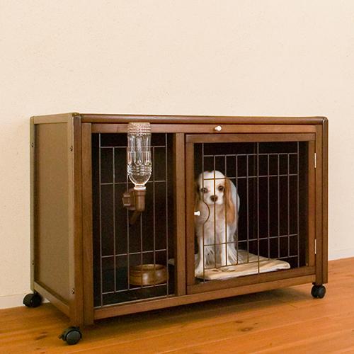 「ペットケージ ハウス AS88+ニュークリネスシートAS88用」犬 ゲージ 犬 ケージ 木製 おしゃれ 小型犬 ケージ 小型犬 ゲージ 室内用 キャスター付き 屋根付き [お得なセット販売] [セール]