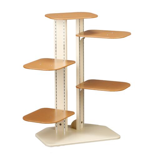 「キャット タワー リーフ」 猫 猫タワー キャットタワー おしゃれ 木製 室内用 据え置き 置型