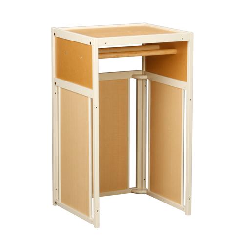 ペットグッズをスッキリ収納できる棚タイプのペット家具です [ パネシェルフ TH 80用 ] 木製 収納 室内用 日本製