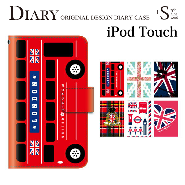 buy online c1cc7 b6b08 iPod touch 5 6 cases United Kingdom Union Jack iPod touch 6th ipodtouch6  6th generation leather cute iPod touch 5 diary case notebook-case design  case ...