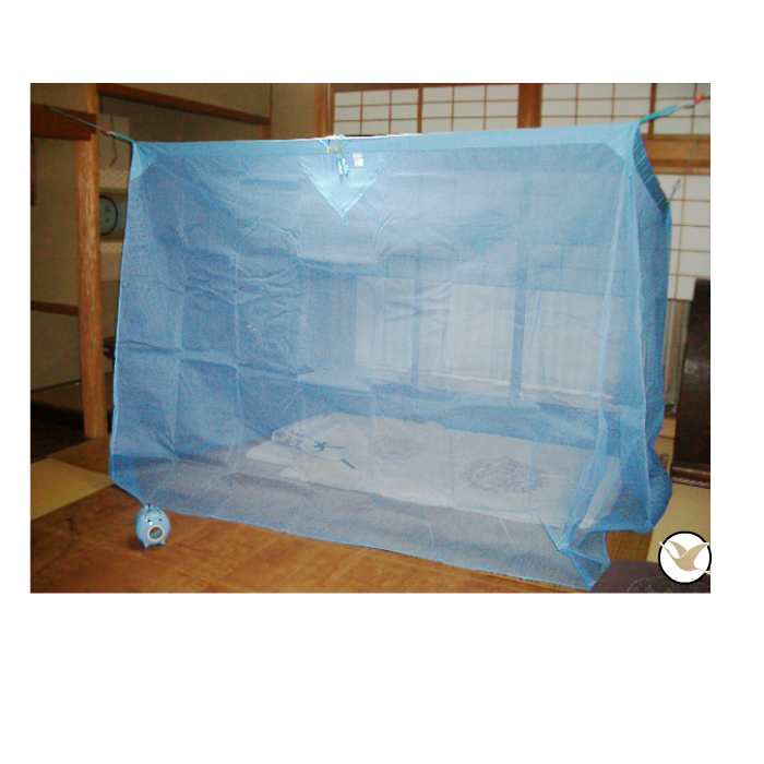 片麻蚊帳 4.5帖用2.0mx2.5mx高さ1.9m