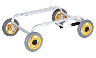 再再販 運搬作業用品-収穫車 コンテナ車 ハラックス 愛菜号 アルミ製ハウスカー CH-20K 新商品 底床斜め置きタイプ 大型 重量商品