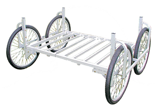 【運搬作業用品-収穫車・コンテナ車】ハラックス 楽太郎 RA-100/RA-200共通部品 低床用部品(部品のみの価格です) <大型・重量商品>