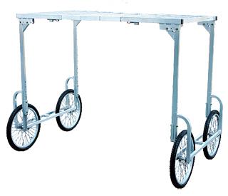 【運搬作業用品-収穫車・コンテナ車】ハラックス 楽太郎 RA-100/RA-200共通部品 高床用部品(部品のみの価格です) <大型・重量商品>