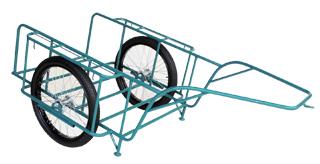【運搬作業用品-リヤカー】ハラックス スチールリヤカー 5号N SSR-5N ノーパンクタイヤ <大型・重量商品>