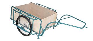 【運搬作業用品-リヤカー】ハラックス スチールリヤカー 3号NG SSR-3NG ノーパンクタイヤ(合板パネル付) <大型・重量商品>