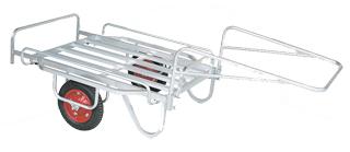 【運搬作業用品-リヤカー】ハラックス 輪太郎 アルミ製大型リヤカー万能タイプ BS-1108 エアータイヤ <大型・重量商品>
