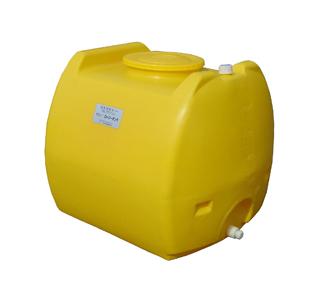 【貯水タンク-ローリータンク】モリマーサム樹脂 業務用ローリータンク SL-600 容量600L 黄 (25Aのバルブキャップ付) <大型・重量商品>