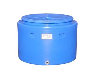 【貯水タンク-大型容器】モリマーサム樹脂 活魚・貯水タンク(コンテナ) ブルー FC-500 <大型・重量商品>