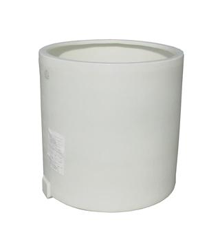 【貯水タンク-大型容器】モリマーサム樹脂 円筒型大型タンク・開放型 ホワイト OTM-500 <大型・重量商品>