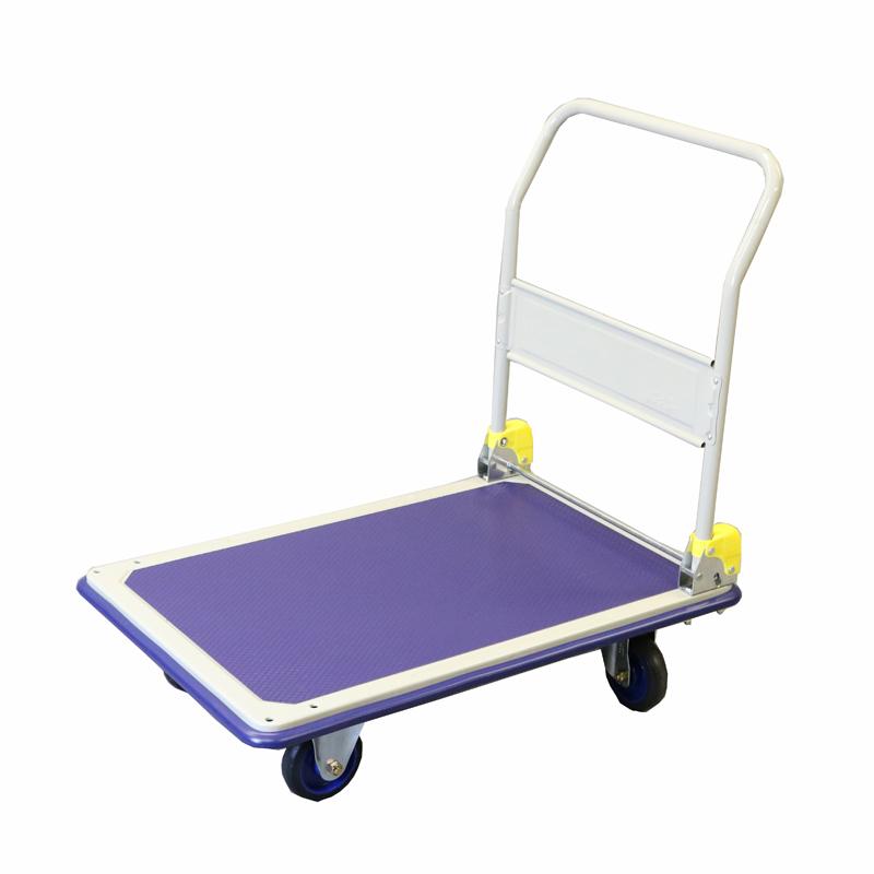 【運搬作業用品-台車】金象印 キャリーラックDXL 大 プルタイプ(前輪固定・後輪自在)
